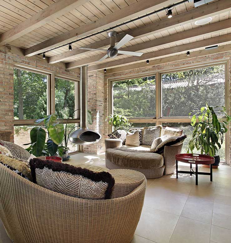 windows for sun room